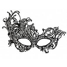 Асимметричная нитяная маска  Фантазийная маска.