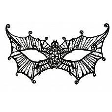 Нитяная маска в форме паутинки  Маска-паутинка.