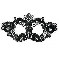 Нитяная маска с цветами  Маска-цветок.