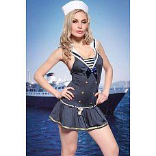 Костюм морячки Dolce Piccante  Ваш капитан вернулся из дальнего плаванья? Самое время порадовать его чем-нибудь  сладеньким .