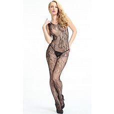 Комбинезон из сетки с крупными ажурными завитками Dolce Piccante  Классика соблазнения - ажурный комбинезон, который облегает тело.