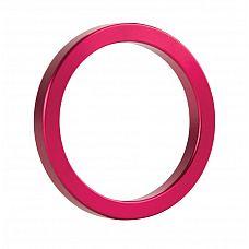 Розовое металлическое эрекционное кольцо Metal Cockring  С металлическим эрекционным кольцом вас не остановить.
