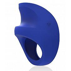 Синее эрекционное кольцо с вибрацией Pino Federal Blue  Синее эрекционное колечко Pino Federal Blue   стильный аксессуар, способный доставить удовольствие вам обоим.