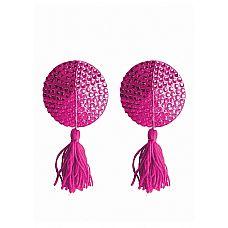 Пестисы Tassels Round Pink   Кисточки на игривых пэстисах призывно покачиваются в такт твоему телу.