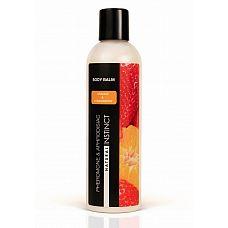 Бальзам для тела с феромонами Natural Instinct с ароматом клубники и апельсина - 250 мл.  Соблазнительный, игривый и неожиданный аромат, раскрывающийся гармоничным созвучием чувственности и страсти.