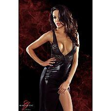 Длинное платье с глубоким декольте и вырезом на спине Jacqueline  Длинное платье с глубоким декольте и вырезом на спине Jacqueline.