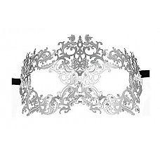 Серебристая металлическая маска Forrest Queen Masquerade  Серебристая металлическая маска Forrest Queen Masquerade.