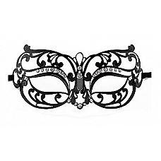 Чёрная маска со стразами Tribal Masquerade Mask  Чёрная маска со стразами Tribal Masquerade Mask.