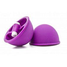 Фиолетовые вакуумные присоски с вибрацией Vibrating Suction Cup  Применение присосок уходит своими корнями в альтернативную китайскую медицину, а сегодня эта практика широко используется в БДСМ.