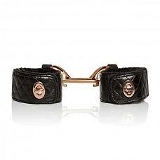 Наручники с золотистой металлической  застежкой Entice Universal Cuff Links   Примерь на себя эти прекрасные наручники.