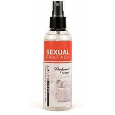 Парфюмированная вода для тела и текстиля Sexual Fantasy - 100 мл.  Парфюмированный спрей  с феромонами и афродизиаками SEXUAL FANTASY.