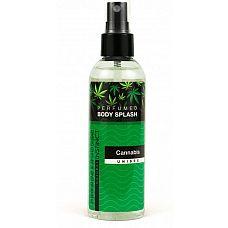 Спрей для тела с феромонами Cannabis Unisex с ароматом конопли  - 100 мл.  Парфюмированный спрей для тела с феромонами и афродизиаками Саnnabis  Unisex.