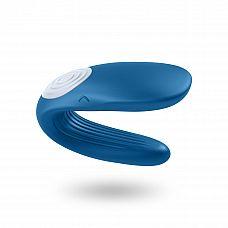 Вибратор для пар - Partner Whale , Синий  Вибратор для пар с милым и удобным дизайном обеспечивает максимально приятные ощущения во время секса.