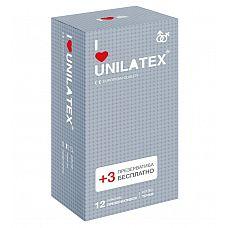 Презервативы с точками Unilatex Dotted - 12 шт. + 3 шт. в подарок  Презервативы из натурального латекса телесного цвета, с точечной поверхностью, покрыты силиконовой смазкой с нейтральным ароматом.