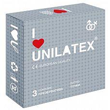 Презервативы с точками Unilatex Dotted - 3 шт.   Презервативы из натурального латекса телесного цвета, с точечной поверхностью, покрыты силиконовой смазкой с нейтральным ароматом.
