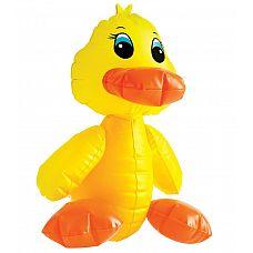 Надувная секс-утка F#ck-A-Duck - 35,6 см.  Милая уточка, которая любит быть влажной и мочить свои перышки.