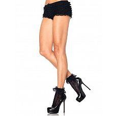 Носочки с кружевным верхом CROCHET NET LACE TOP ANKLETS  Носочки с кружевным верхом CROCHET NET LACE TOP ANKLETS.