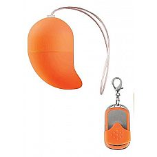 Оранжевое виброяйцо G-spot Egg Small  Это беспроводное g-spot виброяйцо имеет 10 различных режимов, устанавливаемых с помощью пульта дистанционного управления.