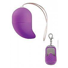 Фиолетовое виброяйцо G-spot Egg Small  Это беспроводное g-spot виброяйцо имеет 10 различных режимов, устанавливаемых с помощью пульта дистанционного управления.