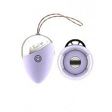 Фиолетовое виброяйцо Isley с пультом ДУ  Из-за внешнего вида Isley и  ощущений при использовании можно подумать, что эта игрушка вернулась из 50-х годов в наше время.