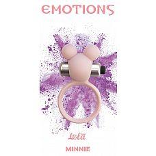 Розовое эрекционное виброколечко Emotions Minnie Light pink  Эрекционное кольцо Emotions Minnie от Lola Toys откроет новые эрогенные зоны у Вас и Вашего партнера, а так же продлит минуты наслаждения.