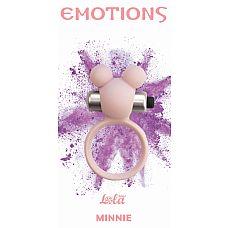 """Эрекционное виброколечко Emotions Minnie Light pink 4005-02Lola  """"Эрекционное кольцо Emotions Minnie от Lola Toys откроет новые эрогенные зоны у Вас и Вашего партнера, а так же продлит минуты наслаждения."""