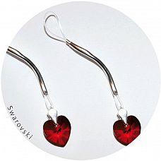 Украшение для груди с кристаллами Swarovski в форме сердца  Шикарное украшение для груди.