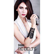 Резной широкий кожаный браслет Shana  Резной широкий кожаный браслет Shana.