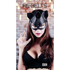 Чёрная маска кошки Erin Black  Чёрная маска кошки Erin Black.