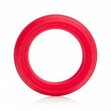 Красное эрекционное кольцо Caesar Silicone Ring  Яркое эрекционное кольцо из качественного силикона для усиления всех мужских ощущений и улучшенной эрекции.