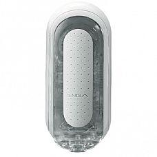 Мастурбатор Flip Zero, 18 см - Tenga, Белый  Tenga Flip Zero - улучшенный многоразовый мастурбатор для мужчин.