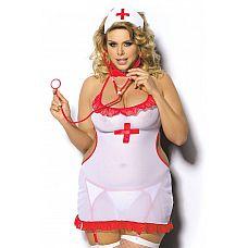 Комплект медсестры Shane  Сексуальный комплект медсестры.