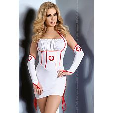 Костюм медсестры Raisa  Сексуальный костюм медсестры для креативных и соблазнительных.