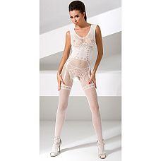 Комбинезон с имитацией комплекта белья  Комбинезон с имитацией комплекта белья. С интимным доступом.