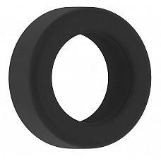 Чёрное эрекционное кольцо Cockring No.39   Эрекционное кольцо.