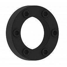 Чёрное эрекционное кольцо No.41 Cockring  Эрекционное кольцо.