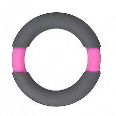 Серое эрекционное кольцо NEON STIMU RING 37MM GREY/PINK  Серое эрекционное кольцо NEON STIMU RING 37MM GREY/PINK. Из эластичного силикона.
