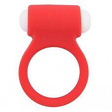 Красное эрекционное виброкольцо LIT-UP SILICONE STIMU RING 3 RED  Красное эрекционное виброкольцо LIT-UP SILICONE STIMU RING 3 RED.
