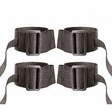 Регулируемые манжеты на запястья и лодыжки с лентами для фиксации  Регулируемые манжеты на запястья и лодыжки с лентами для фиксации Wrist and Ankle Restraint Set.