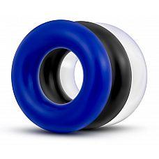 Набор из 3 разноцветных колец Stay Hard Donut Rings  Набор из 3 разноцветных колец Stay Hard Donut Rings. Отличаются между собой только цветом.