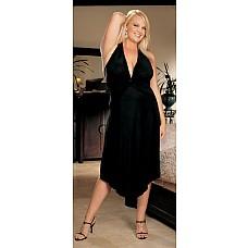 Эластичная длинная сорочка  Сорочка-платье из эластичного тонкого трикотажа.