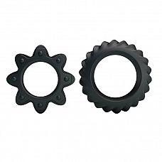 Набор ребристых эрекционных колец Ring Flowering  Набор эрекционных колец Flowering отлично подойдут для продления эрекции.