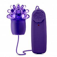 Фиолетовое виброяйцо с шишечками Splash Wild Grape Blast   Фиолетовое виброяйцо с шишечками Splash Wild Grape Blast. Мультискоростная вибрация.
