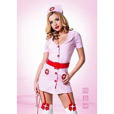 Костюм Похотливая медсестра от Le Frivole Costumes   Гламурный эротический костюм медсестры – для смелых женщин, желающих подчеркнуть свою сексуальность.