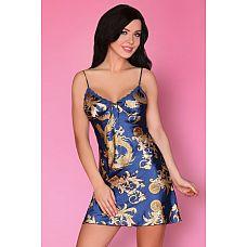 Сорочка Dragana на тонких бретелях  Элегантная сорочка на тонких бретелях со слегка расклёшенным силуэтом.