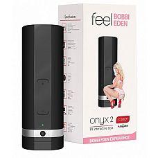 Мастурбатор ONYX 2 TELEDILDONIC MASTURBATOR BOBBI EDEN  KiirooPOnyx 2 Bobbi Eden   инновационная игрушка, которая позволит заниматься сексом со своей партнершей даже во время её отсутствия.