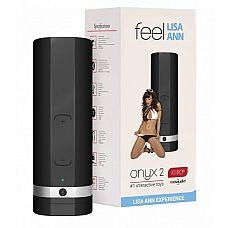 Мастурбатор ONYX 2 TELEDILDONIC MASTURBATOR LISA ANN  KiirooPOnyx 2 Lisa Ann   инновационная игрушка, которая позволит заниматься сексом со своей партнершей даже во время её отсутствия.