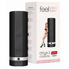 Мастурбатор ONYX 2 TELEDILDONIC MASTURBATOR JESSICA DRAKE  KiirooPOnyx 2 Jessica Drake   инновационная игрушка, которая позволит заниматься сексом со своей партнершей даже во время её отсутствия.