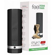 Мастурбатор ONYX 2 TELEDILDONIC MASTURBATOR ROMI RAIN  KiirooPOnyx 2 Romi Rain   инновационная игрушка, которая позволит заниматься сексом со своей партнершей даже во время её отсутствия.