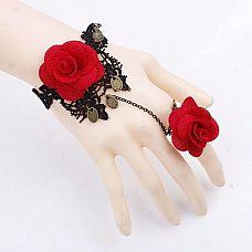 Оригинальный браслет Bidane с розами и подвесками  Оригинальный браслет Bidane с розами и подвесками.